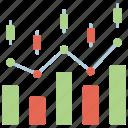 stock investment, shares, economic, funding icon