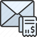 email, receipt, mail, receipts, invoice