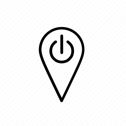 here, location, mindfulness, on, reset icon