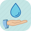 drink, eco, ecology, environment, green, nature, water icon
