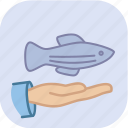 eco, ecology, environment, fish, marine, protect, protection icon