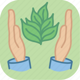 eco, environment, green, plant, protect, protection, seedling icon