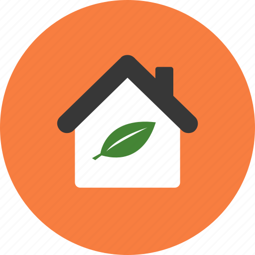 conservation, ecology, environment, home, house, nature, technology icon