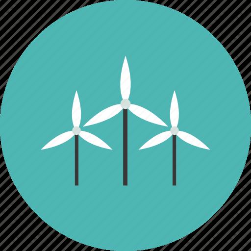 conservation, ecology, energy, environment, nature, turbine, wind icon