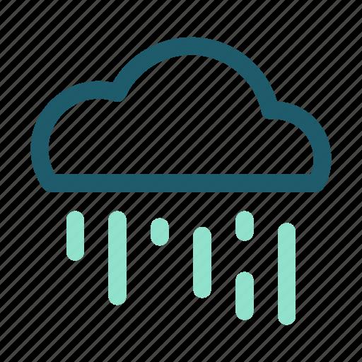 cloud, eco, energy, forecast, precipitation, rain, renewable icon
