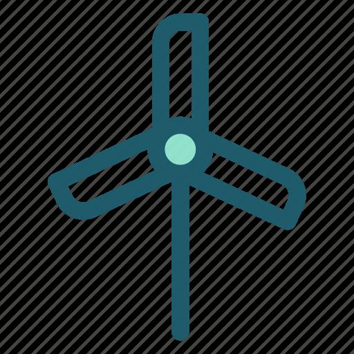 eco, energy, renewable, solar, wind, wind turbine icon
