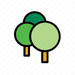 environment, forest, green, nature, tree, trees icon