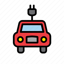 car, ecology, electric, environment, environmentalism, green issues, transport icon