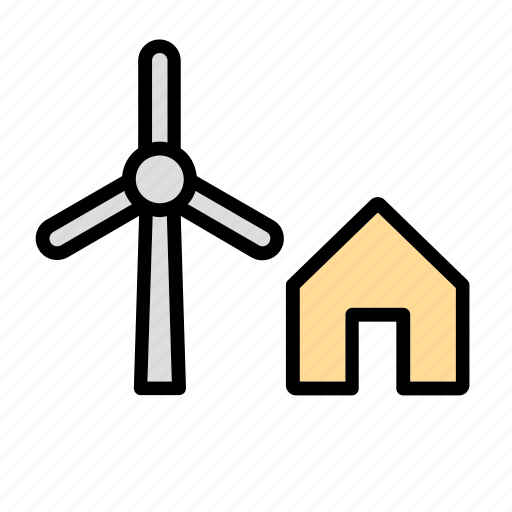 alternative, energy, eolian, mill, power, renewable, wind icon