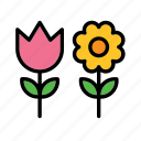 environment, environmental, environmentalism, flower, flowers, nature, sunflower icon