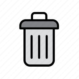 basket, bin, paper, wastepaper icon