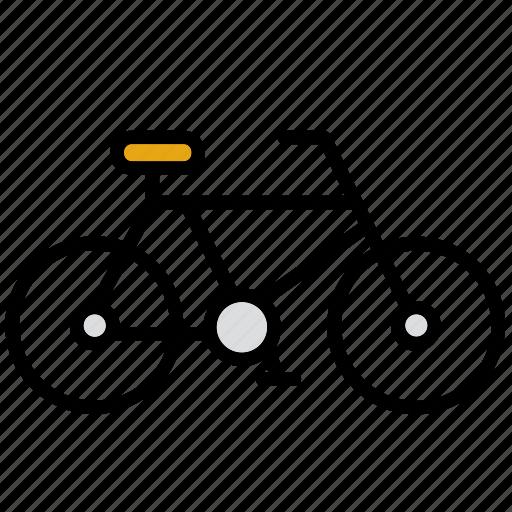 bicycle, bike, environment, environmental, environmentalism, green issues, transport icon