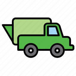 environmental, environmentalism, lorry, recycle, recycling, transport, truck icon