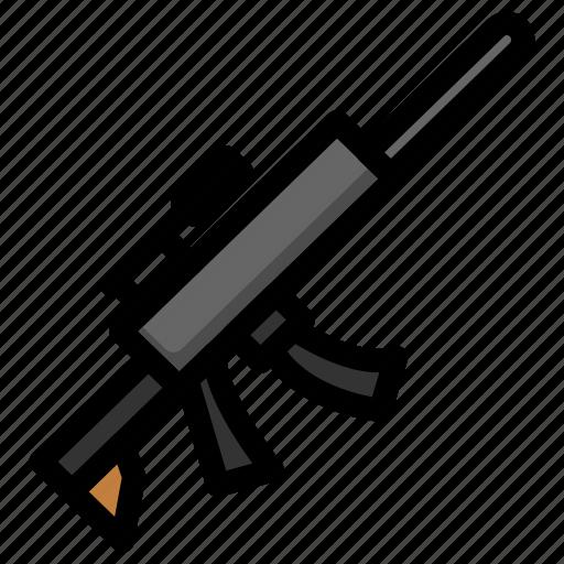 Fortnite, Gta, Gun, Pubg, Scoped, Weapon Icon