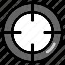 fortnite, game, pubg, target icon