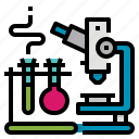 chemistry, lab, science, tests, tube icon