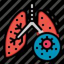 bacteria, disease, epidemic, lungs, virus