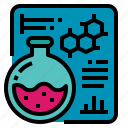 analysis, chemistry, medical, research, science icon