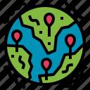 biohazard, distribution, epidemic, epidemy, pandemic icon