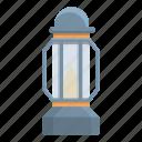 kerosene, lamp, antique, glass