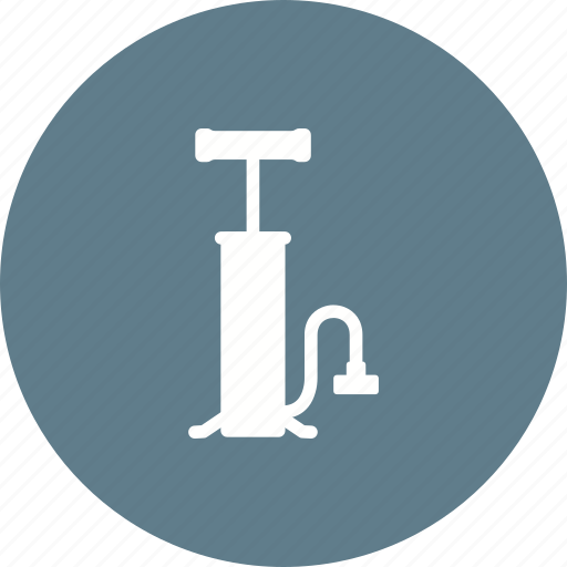 air, bicycle, bike, equipment, pressure, pump, tire icon