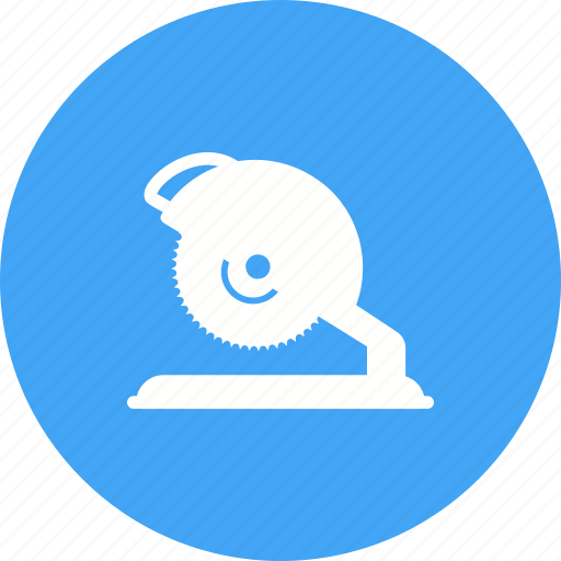 blade, carpenter, circular, electric, power, saw, tool icon
