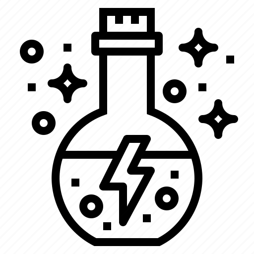 chemical, flask, potion, science icon