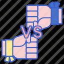 fighting, player, pvp, versus icon