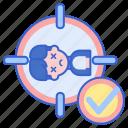 dead, frag, kill, target icon