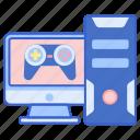 computer, desktop, gaming, pc icon