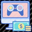 betting, esports, gamble, money icon