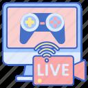 console, game, live, stream