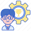 organizer, tournament, trophy, winner