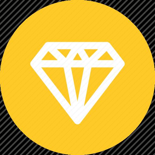 diamond, gold, jewelry, luxury icon