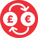 currencies, euro, euro to pound, exchange, pound, pound to euro