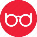 eyeglasses, eyewear, glasses, rayban icon