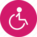 chair, handicap, handicap chair, handicapped icon