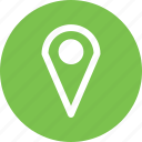 geolocation, location, marker, pin icon