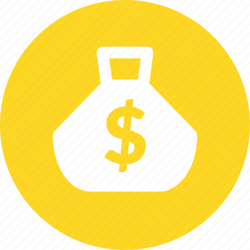 bag, cash, earnings, fortune, money, wealth icon