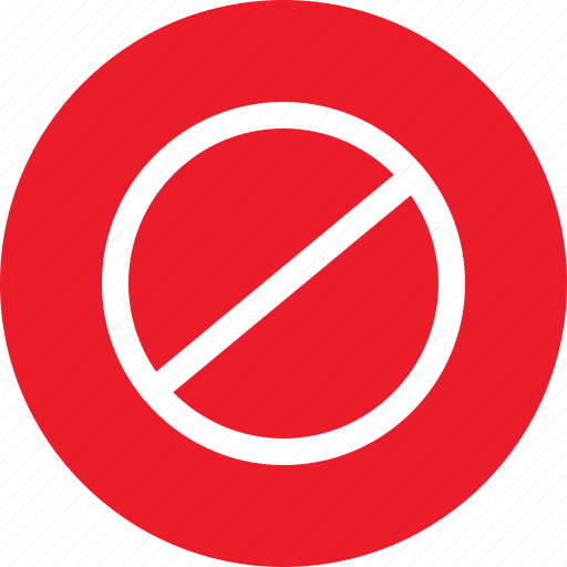 do not cross, forbidden, not allowed, unallowed icon
