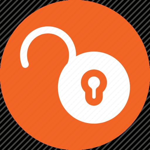 open, padlock, privacy, security, unlock, unlocked icon