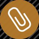 clip, clipper, paper clip, paperclip icon