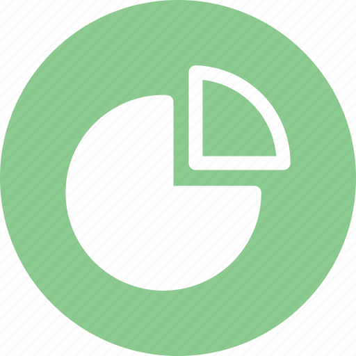chart, data analysis, graph, pie, statistics icon