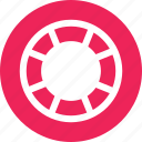 roll, rolling, round, wheel icon