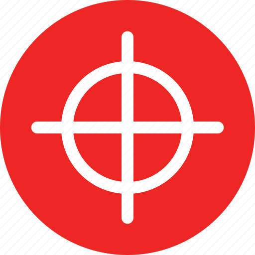 geolocation, hunting, location, target icon
