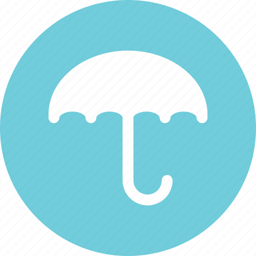 protection, raining, security, umbrella icon
