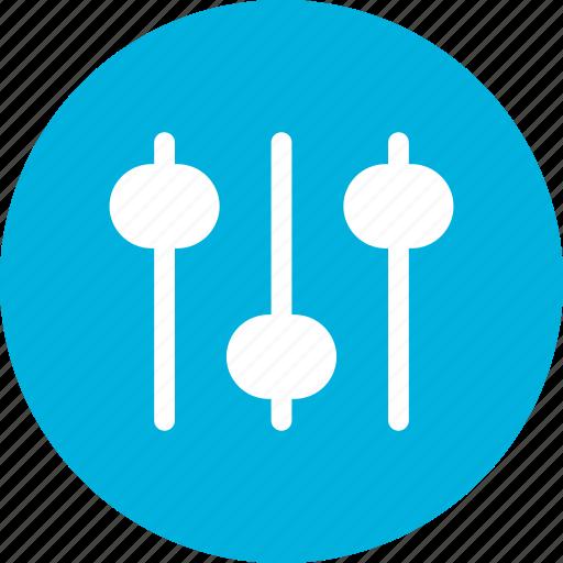 music, slide control, vertical, volume, volume control icon