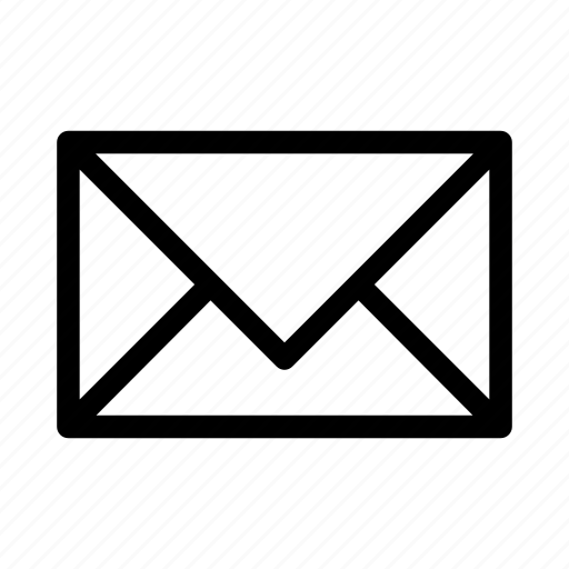 e, email, envelope, letter, mail, send, shape icon