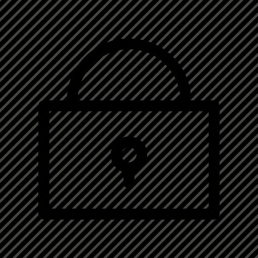 key, lock, locked, padlock, safe, secure, unlock icon