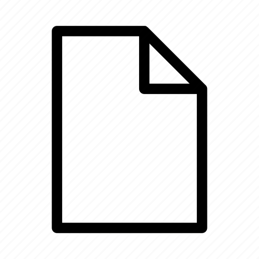 document, letter, mail, page, paper, print icon